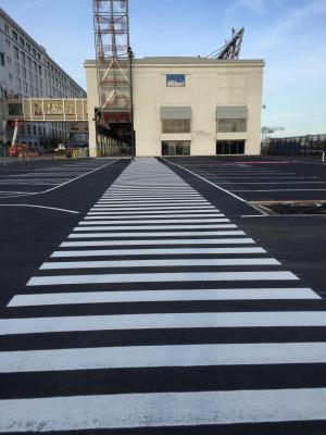 crosswalk marking