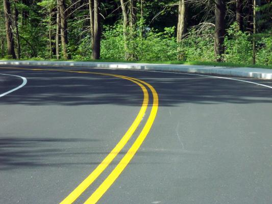 roadway painting