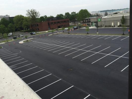 parking lot painting