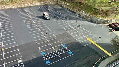 parking lot marking
