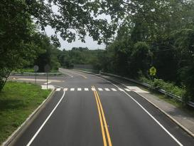 roadway marking in lexington ma